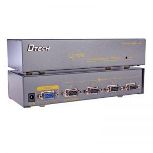 اسپلیتر VGA چهار پورت 350 مگاهرتز Dtech DT-7354