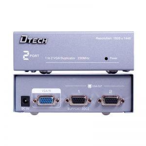 اسپلیتر VGA دو پورت Dtech DT-7252