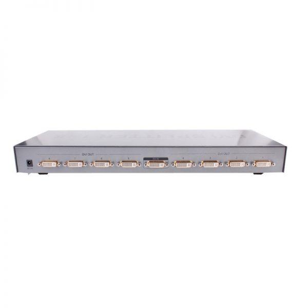 اسپلیتر DVI هشت پورت Dtech DT-7025