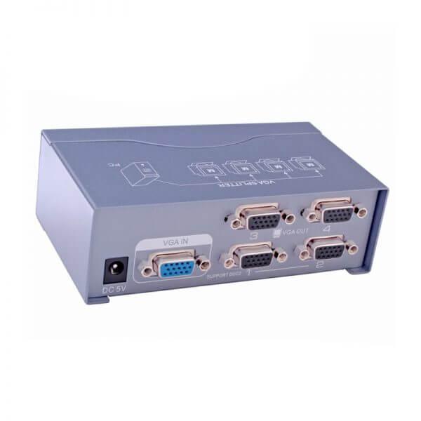 اسپلیتر VGA چهار پورت Dtech DT-7254