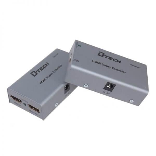 اکستندر HDMI over cat6 با طول 60متر Dtech DT-7009A