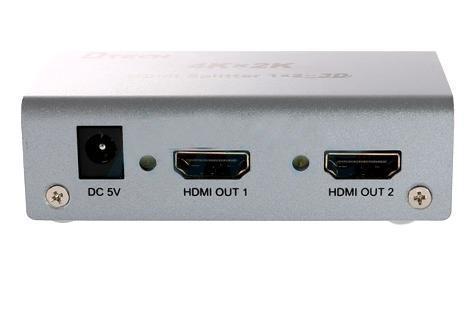 اسپلیتر HDMI 4K دو پورت Dtech DT-7142
