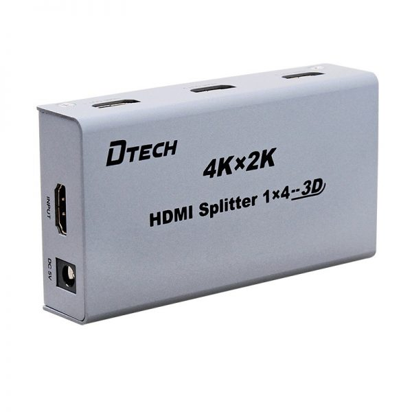 اسپلیتر HDMI 4K چهار پورت Dtech DT-7144