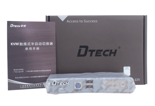 KVM سوئیچ 2 پورت PS2وUSB دی تک مدل DTECH DT-8021