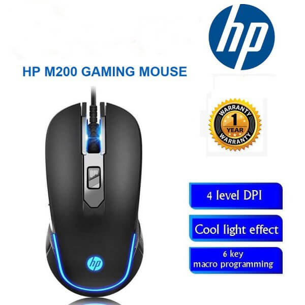 ماوس  اچ پی باسیم مدل HP M200