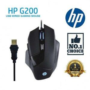 ماوس گیمینگ اچ پی باسیم مدل HP G200